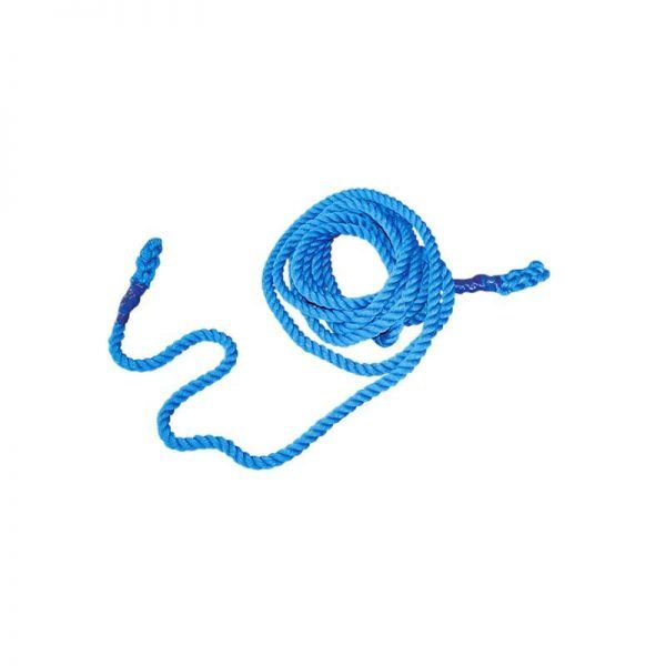 Material deportivo. Cuerda de tracción de alta tenacidad-resistencia más suave que las de cáñamo
