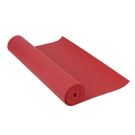 Material deportivo escolar. Colchoneta especialmente diseñada para la pràctica de Pilates y Yoga. Varios colores.