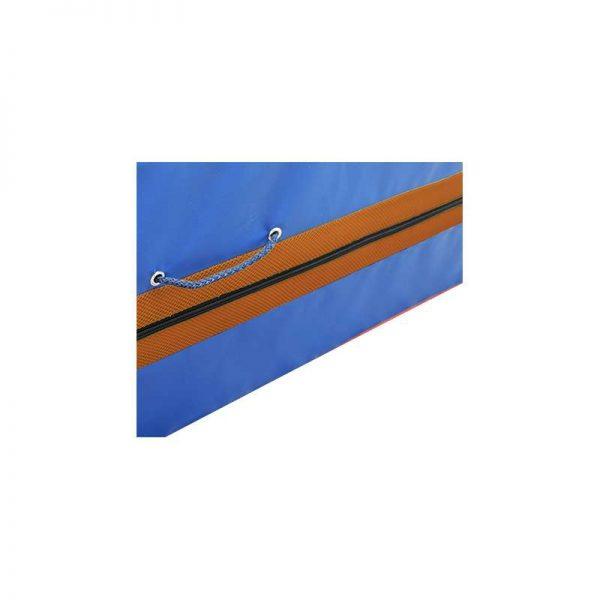 Material deportivo para educacion fisica.Funda Quitamiedos Ignifuga Reforzada 300 X 200 X 30 cm. con cantoneras y asas