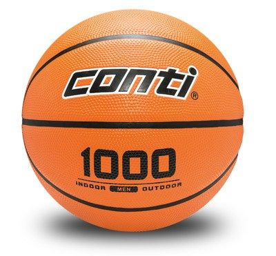 Material deportivo para colegios. Balón baloncesto caucho alta calidad Alser B1000 Tallas: B5 / B6 / B7.