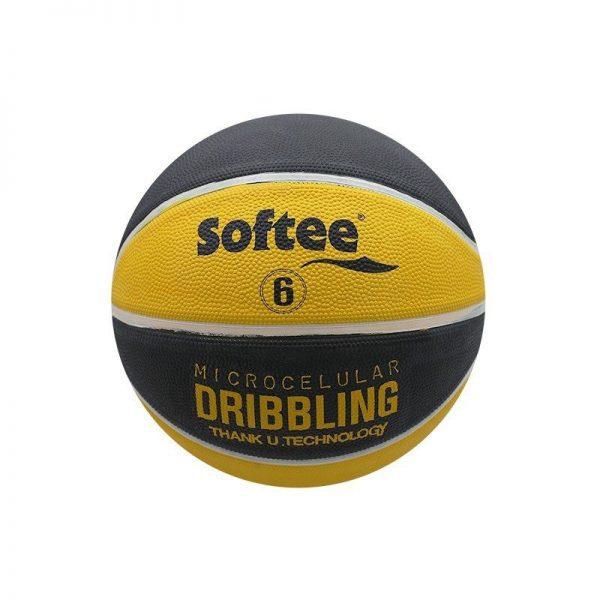 Material deportivo para colegios. Balón baloncesto caucho celular Talla B6 Femenino