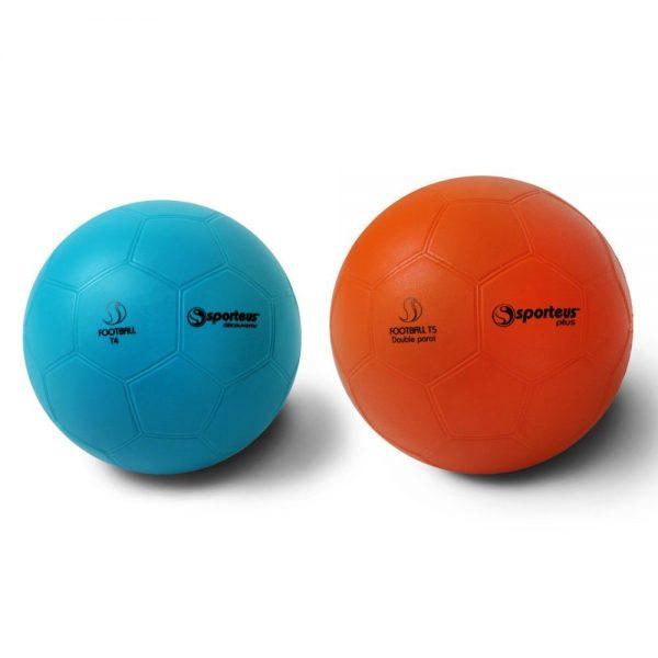 Material deportivo para colegios. Balón fútbol de goma blanda Pvc, Disponible en diametros: 145 mm. / 215 mm. / 220 mm.