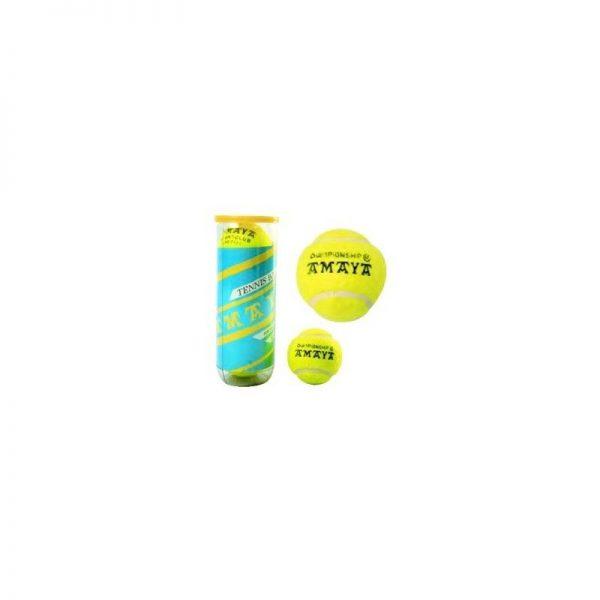 Material deportivo para colegios. Pack de 3 pelotas de tenis alser en blister para entrenamiento